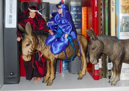 Breyer's Mary & Joseph Donkey 3